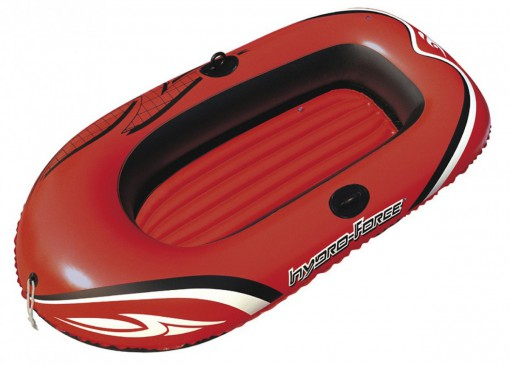 Лодка Bestway Hydro Force. Переправа в велотуризме.