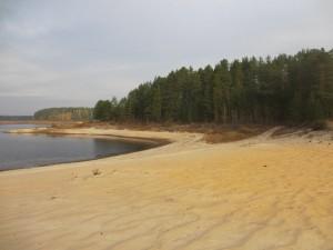Гигантский пляж