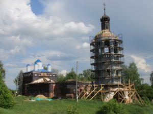 Церковь в деревне Палец
