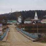 Понтонный мост в Гороховце