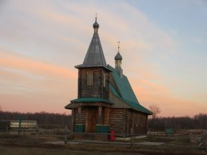 Церковь в ските Егорий
