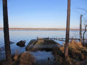 Дебаркадер на Великом озере