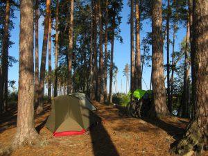 Наш маленький лагерь