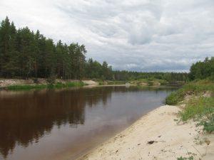 река Лух у Почайки